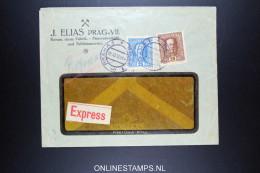 Österreich  Express Company Cover  Praha Prag 1916 - 1850-1918 Imperium