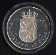 Nederland Herrijst - 1945-1970,  Silver 720/1000, 25 G, Prooflike Edition, Commemoratng End Of WW II - [ 3] 1815-… : Reino De Países Bajos