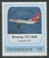ÖSTERREICH / PM Boing 737-600 Lauda Air / Postfrisch / MNH /  ** - Private Stamps
