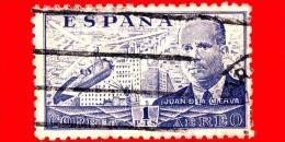 SPAGNA - Usato - 1939 - Juan De La Cierva Y Codorníu - 1 P. Aerea - Usati