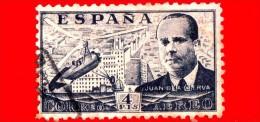 SPAGNA - Usato - 1939 - Juan De La Cierva Y Codorníu - 4 P. Aerea - Usati