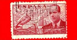 SPAGNA - Usato - 1939 - Juan De La Cierva Y Codorníu - 25 P. Aerea - Usati