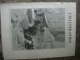 L'ILLUSTRATION 2510 EGYPTE/ ASTRONOMIE/ PHARES/ PAQUE RUSSE/ VENTE  EDMOND YON  4 Avril 21891 - Periódicos