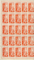 _5Vv-961: N° Mi100  : ** : Volledig Vel - 1 Zegel= . 49 Zegels.... Postfris  ... - 1943-45 Shanghai & Nankin