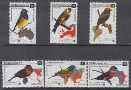 2015.22 CUBA 2015 MNH+HF. COMPLETE SET. AVES CANORAS. BIRD CANORAS. - Ongebruikt