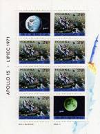 USA Apollo-Programm 1979 Mond-Auto Polen Block 48 ** 10€ Raumfahrt Kosmos Bloque Hoja Hb Bloc M/s Space Sheet Bf POLSKA - Blocks & Sheetlets & Panes