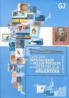 AGOTADO - CATALOGO ESPECIALIZADO DE SELLOS POSTALES DE LA REPUBLICA ARGENTINA 1856-2009 506 PAGINAS JALIL-GOTTIG - Postzegelcatalogus