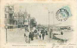 14 - TROUVILLE-sur-MER - La Promenade Des Planches - Trouville