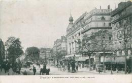 75 - PARIS - Perspective Du Boul. St-Denis - Transport Urbain En Surface