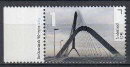 Nederland - Uitgiftedatum 30 Maart 2015 – Bruggen/Bridges/Ponts/Brücken - De Oversteek In Nijmegen - MNH/postfris - Bruggen