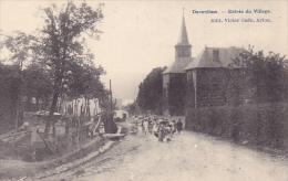 Daverdisse   Entrée Du Village Bien Animée N'a Pas Circulé - Daverdisse
