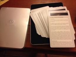 Jeux de cartes Mercedes �toiles d argent