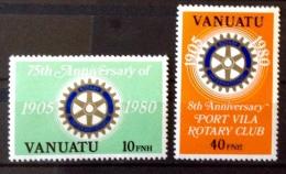 Vanuatu  -  MNH - 1980  # 611/612 - Vanuatu (1980-...)
