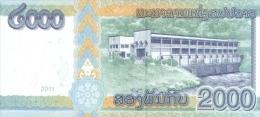 LAOS P. 41 2000 K 2011 UNC - Laos