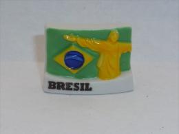 FEVE DRAPEAUX, BRESIL - Pays