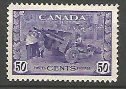 CANADA N� 217  NEUF* TRACE DE CHARNIERE / MH