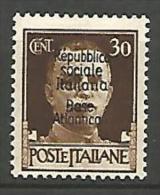 BASE NAVALE ITALIENNE N� 11 NEUF* TRACE DE CHARNIERE / MH /