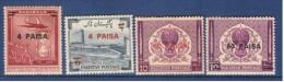 Pakistan 1968   Surched Stamps Set Of 4V.  MNH - Pakistan