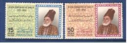 Pakistan 1969    Ghalib Set Of 2V..  MNH - Pakistan
