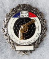 INSIGNE - CENTRE NATIONAL DE TIR - POLICE NATIONAL