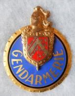 INSIGNE - PLAQUE DE BAUDRIER - MOTARD - GENDARMERIE