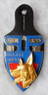 INSIGNE - BRIGADE CANINE - PREFECTURE DE POLICE - Mod�le OR