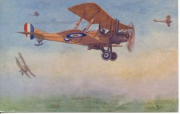 AVIATION - SALMON - ROYAL AIRCRAFTS FACTORY BE 2D Ap26 - 1939-1945: 2nd War