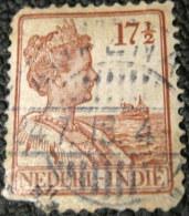 Netherlands Indies 1914 Quen Wilhelmina 17.5c - Used - Niederländisch-Indien