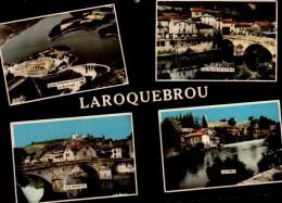 15-LAROQUEBROU..4 VUES... CPSM GRAND FORMAT - France
