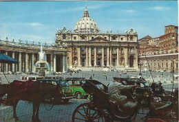 Citta Del Vaticano.  St. Peter Square And Bassilica.    # 04518 - Vatican