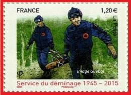 France N° 4927 ** Service Du Déminage - Nuevos