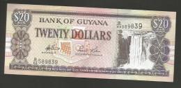 GUYANA - BANK Of GUYANA - 20 DOLLARS - Guyana