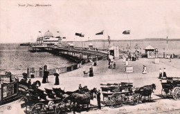Postcard - Morecambe West End Pier, Lancashire. 27781 - Angleterre