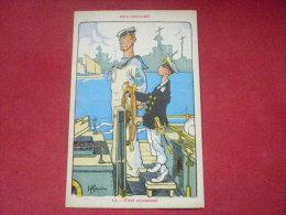 Ancienne Carte Postale : : Illustrateur H. GERVESE   OUR SAILORS : 12 - FIRST COMMAND - Otros