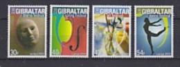Europa Cept 2003 Gibraltar 4v ** Mnh (23447AB) - Europa-CEPT