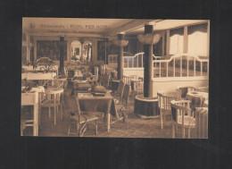 Carte Postale Blankenberge Royal Pier Hotel Salon De Lecture - Blankenberge