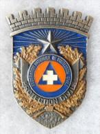 INSIGNE - FEDERATION NATIONALE DE PROTECTION CIVILE - N� 01