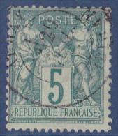 France N°64 - Oblitéré - TB - 1876-1878 Sage (Type I)