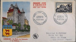 FDC 1955 - UZERCHE - Besançon Le 15.10.1955 - En TBE - - FDC