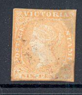 VICTORIA, 1854 6d (faults) - 1850-1912 Victoria