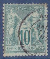 France N°65 - Oblitéré - TB - 1876-1878 Sage (Type I)