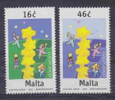 Europa Cept 2000 Malta 2v ** Mnh (23452) - Europa-CEPT