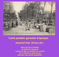 Cpa : CHARTRES. Buttes Des Charbonniers Pendant La Foire. Sympathique Animation.  1915. Voir Description Détaillée - Chartres