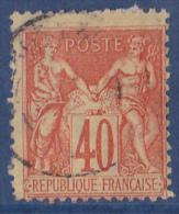 France N°70 - Oblitéré - TB - 1876-1878 Sage (Type I)