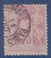 France N°81 - Oblitéré - TB - 1876-1878 Sage (Type I)