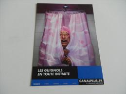 Publicité Canalplus - Les Guignols - Jacques CHirac - Pubblicitari
