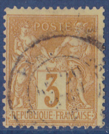 France N°86 - Oblitéré - TB - 1876-1878 Sage (Type I)
