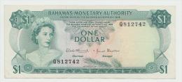 Bahamas 1 Dollar Banknote 1968 AXF Pick 27 - Bahamas