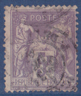 France N°95 - Oblitéré - TB - 1876-1878 Sage (Type I)