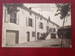26 Drome Domaine De LOZERON Préventorium Maison De Vacances (cpa Unique) + Cad BEAUFORT SUR GERVANNE - Autres Communes